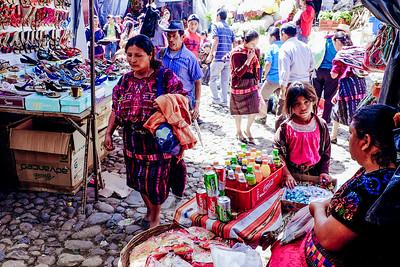 Saturday market in Chichicastenango