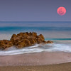 Super moon horizontal