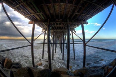 Rented a fish eye lens, woke up early, and headed down to the Oceanside Pier to see what i could capture. This is my favorite spot.   This is my first attept with HDR imaging.
