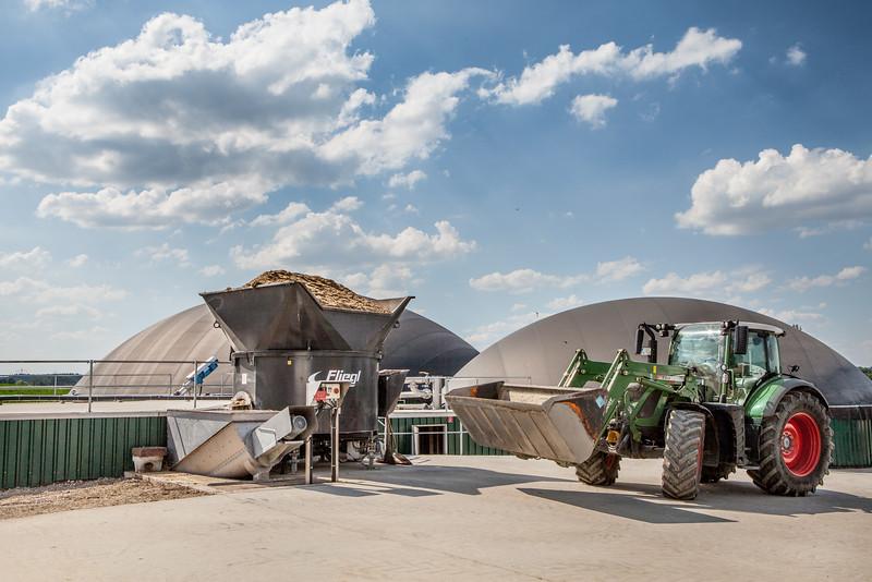 Bernhard Karrer, Biogas Produzent