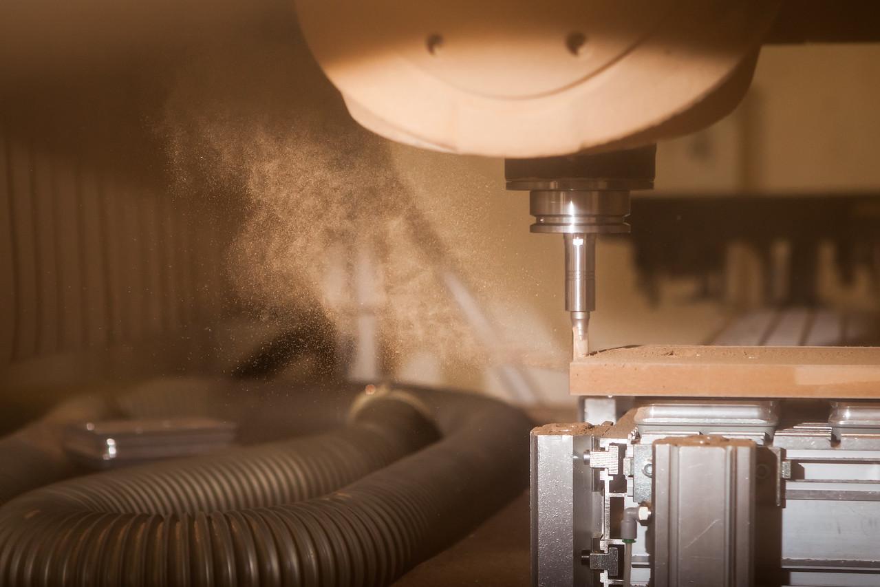 Industrie - Holzfräse