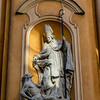 Facade of the Church of Saint Martin in Warsaw, Poland - Europe