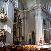 Interior of the Carmelite Church in Warsaw, Poland - Europe