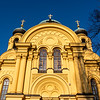 Facade of Cathedral of St. Mary Magdalene, Warsaw, Poland - Europe