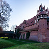 The Castle of the Teutonic Order in Malbork (Marienburg) a Unesco World Heritage Site in Poland, Europe