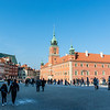 Castle Square and the Royal Castle in Warsaw, Poland - Europe
