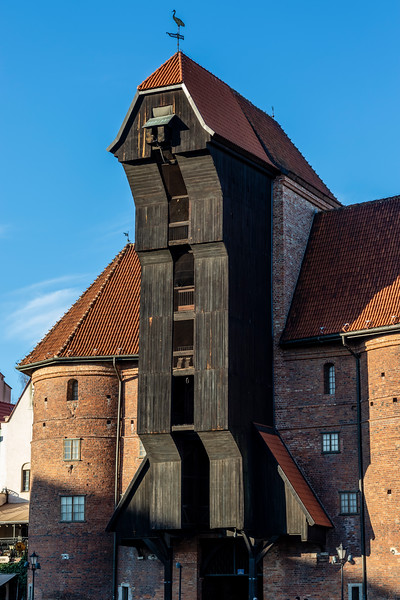 Gdansk Crane in Gdansk, Poland