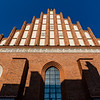 Facade of the St. John's Cathedral (Katedra Sw Jana) in Warsaw, Poland - Europe