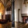 Interior of the Castle of the Teutonic Order in Malbork (Marienburg) a Unesco World Heritage Site in Poland, Europe