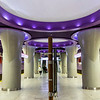 Nowy Swiat metro station, underground of Warsaw, Poland - Europe