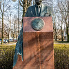 Statue of US President Ronald Reagan in Łazienki Park in Warsaw, Poland - Europe