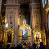 Interior of the cathedral of St. Mary Magdalene, Warsaw, Poland - Europe