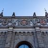 Upland Gate (Brama Wyzynna) in Gdansk, Poland