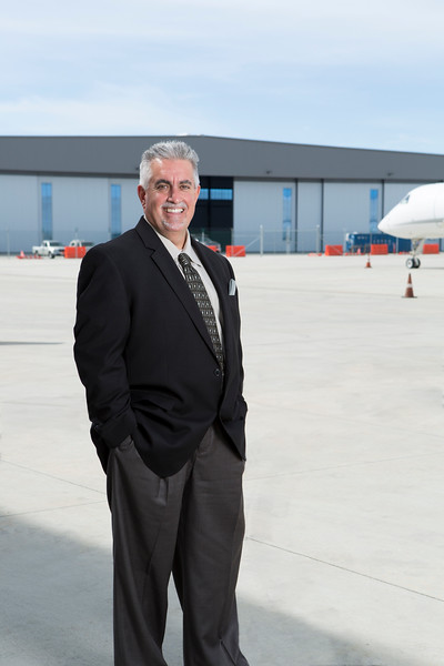 Cover shot of Curt Castagna, CEO Aeroplex Aerolease Group. Aviation Business Journal.