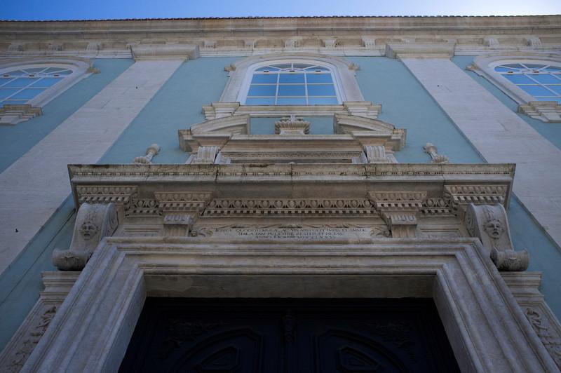 CHURCH FACADE IN BAIXO CHIADO. [2]