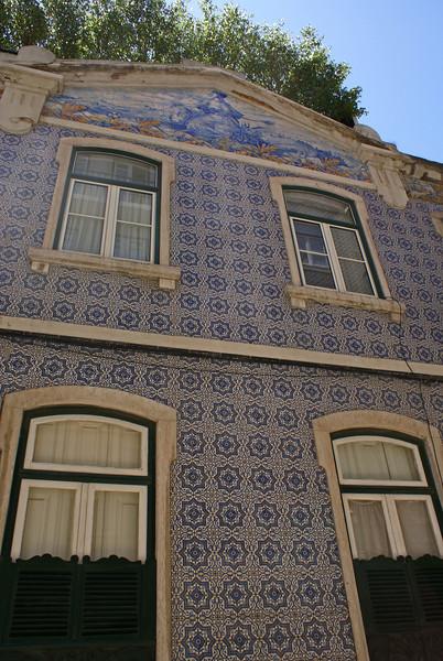 OLD PORTUGESE HOUSE. BAIRRO ALTO. LISBOA. PORTUGAL.