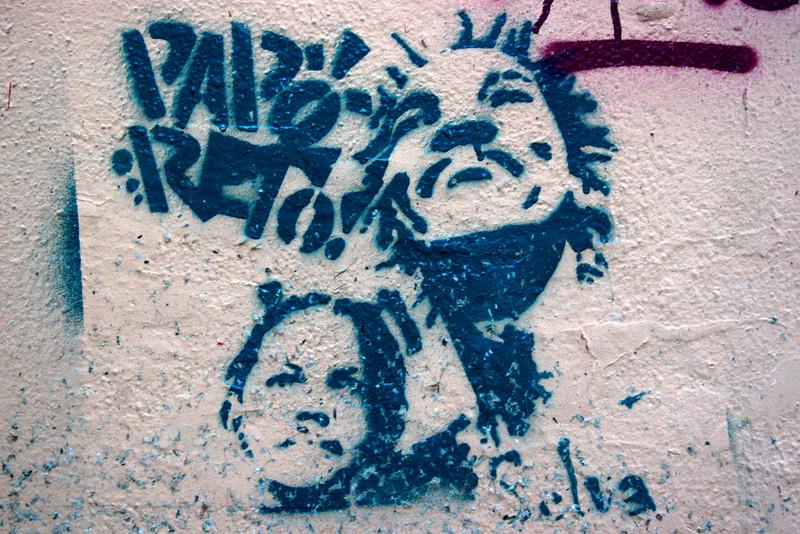 GRAFFITI. LISBON. PORTUGAL.
