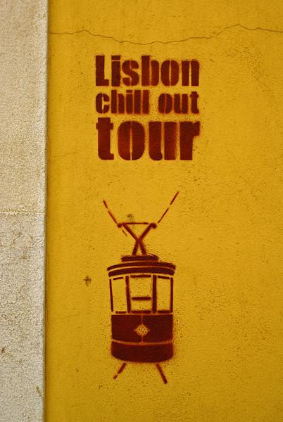 LISBON CHILL OUT TOUR GRAFFITI. LISBOA. PORTUGAL.