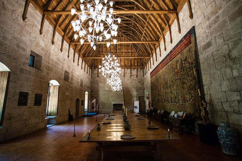 GUIMARAES. INTERIOR OF THE PALACE. PACO DOS DUQUES DE BRAGANCA