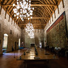 GUIMARAES. INTERIOR OF THE PALACE. PACO DOS DUQUES DE BRAGANCA