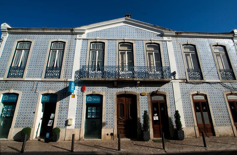 MAIN STREET. AZEITAO, PORTUGAL.