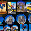 LISBON. PORTUGAL. TOURIST MERCHANDISE. LISBON MAGNETS.