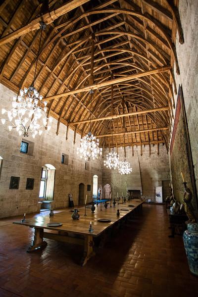GUIMARAES. INTERIOR OF THE PALACE. PACO DOS DUQUES DE BRAGANCA [4]