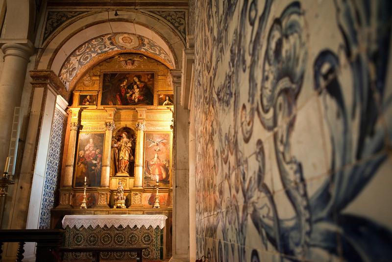 OBIDOS. CHURCH OF SANTA MARIA. INTERIOR [8]