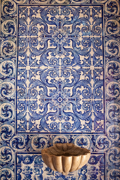 OBIDOS. CHURCH OF SANTA MARIA. INTERIOR [2]