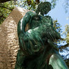 SINTRA. STATUE OF MOTHER AND CHILD.