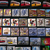 LISBON. PORTUGAL. TOURIST MERCHANDISE. LISBON MAGNETS. [4]