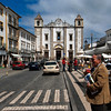 ANTAO CHURCH. PRACA DO GIRALDO. EVORA. ALENTEJO. PORTUGAL.