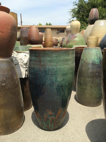 Pottery, glazed