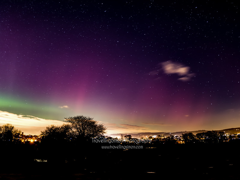 Aurora Borealis Over Macclesfield new image 5