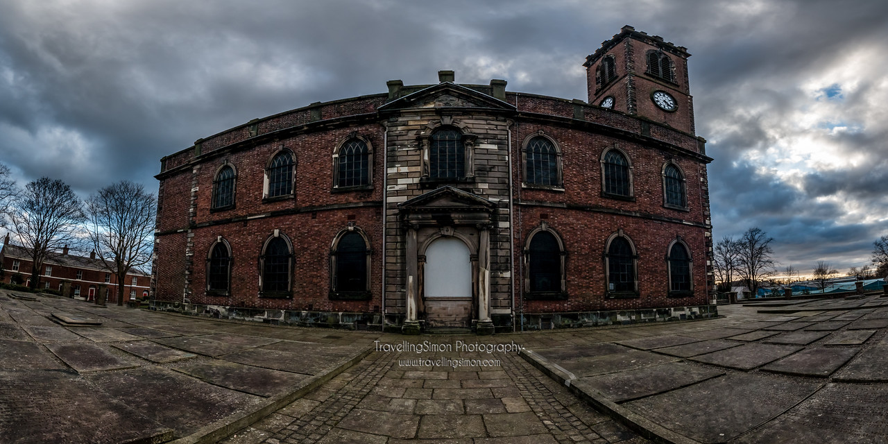 Christ Church Macclesfield Panorama
