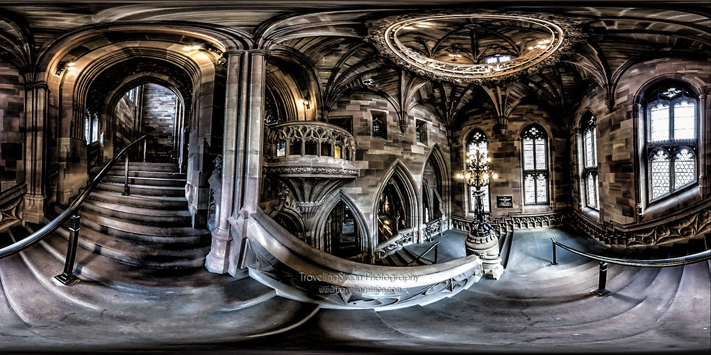 The Grand Staircase, John Ryland's Library, University of Manchester