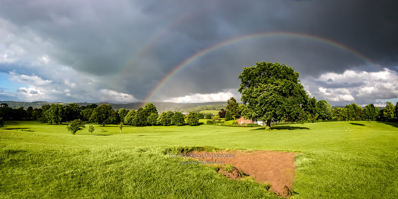 Double Rainbow over South Park Macclesfield