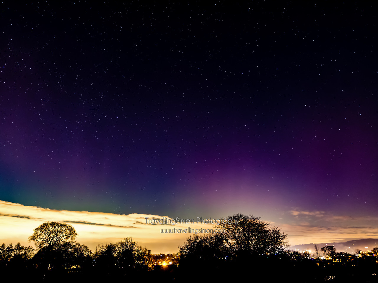 Aurora Borealis Over Macclesfield new image 4