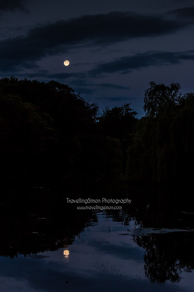 Last reflections on the Strawberry Moon
