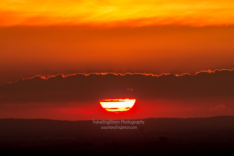 Sunset From Lyme Park 2