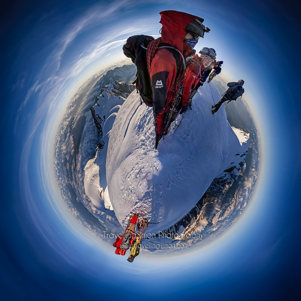 Altitude: 4,810 m, With the World Beneath Our Feet.