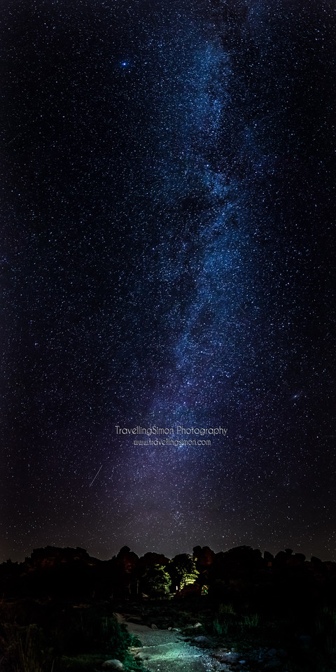 The Roaches under the Milky Way