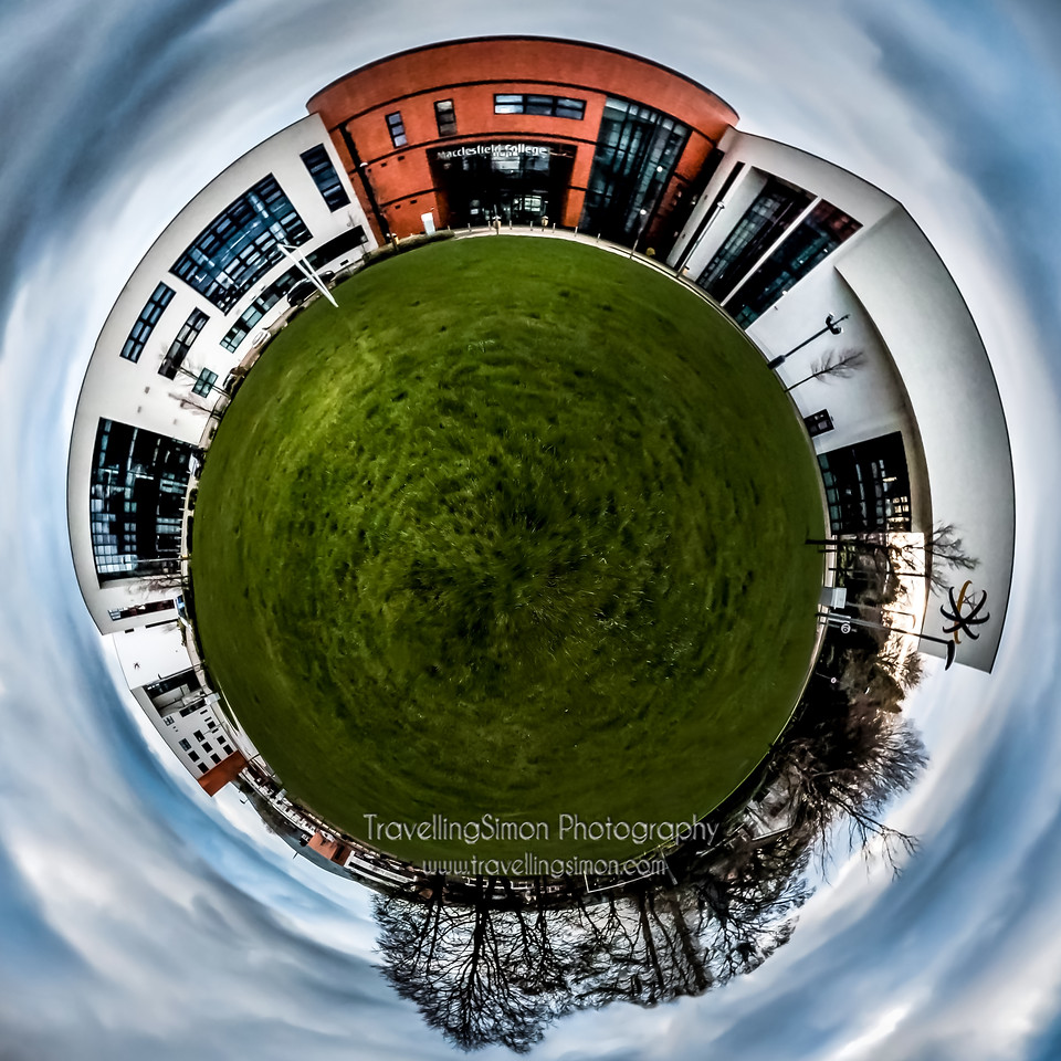 Macclesfield College Tiny Planet