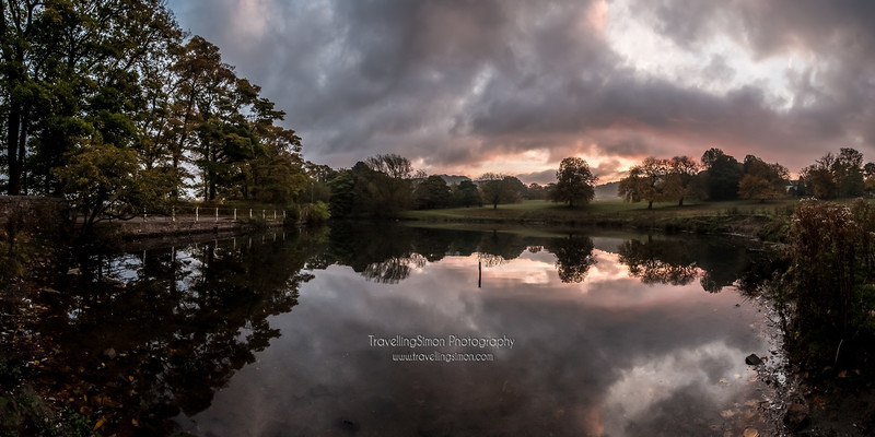 Sunrise at Swan's Pool, Macclesfield