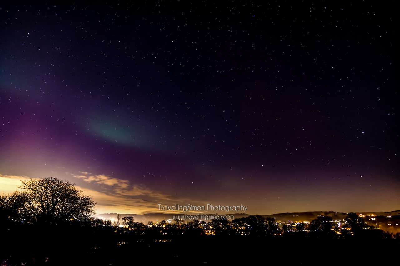 Aurora Borealis Over Macclesfield new image 2