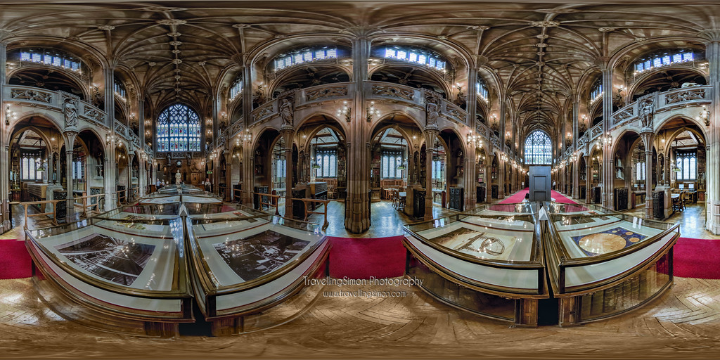 John Ryland's Library Manchester 360 x 180 panorama