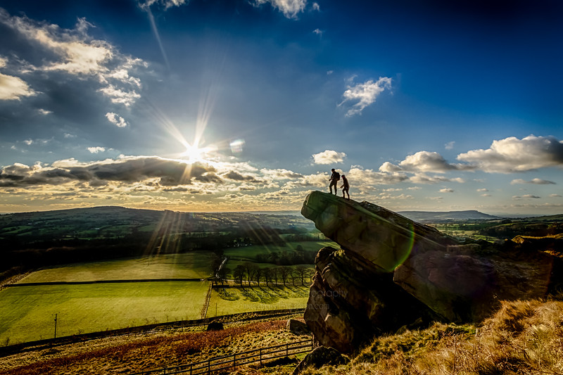 Walkers on the Hanging Stone, Swythamley