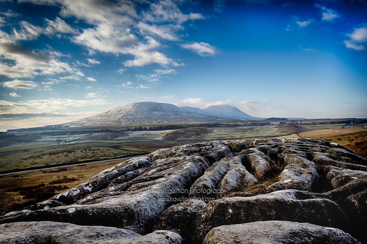 It's always nice to find shots lurking on your hard drive that you somehow overlooked when initially processing them. Here's one of one of my favourite mountains, Ingleborough from nearly exactly 2 years ago today!