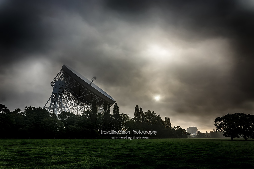Jodrell Bank in the Mist