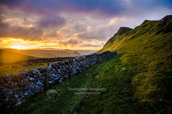 Chrome and Parkhouse Hill at sunrise